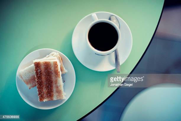 Morning Toast And Coffee