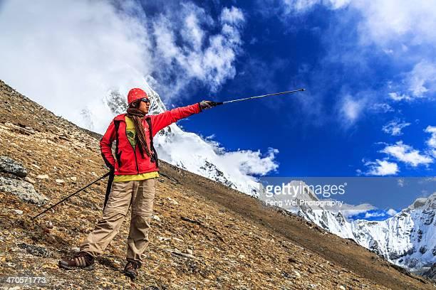 Morning Trek To Kala Patthar, Himalayas, Nepal