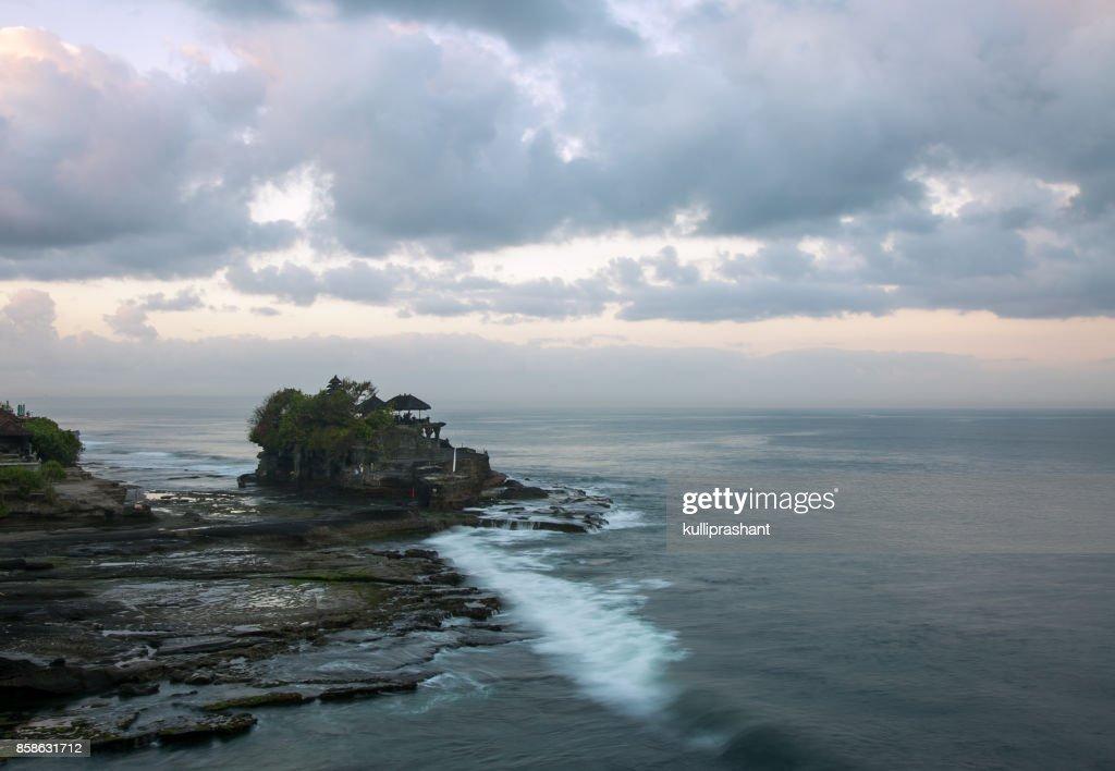 A morning view from Tanah Lot, Bali : Stock-Foto