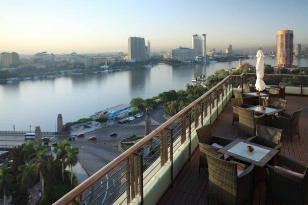 Morning View Of Cairo Wall Art