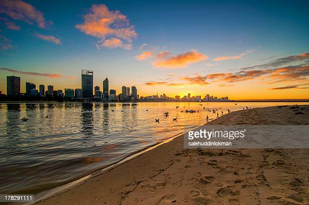 Morning View of Perth City