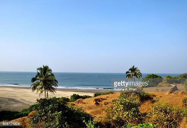 A morning view of Vagator Beach that stretches across the shoreline of the Arabian Sea from W Goa the first W hotel in India on December 9 2016 in...