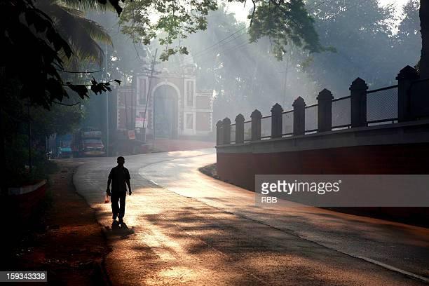 A morning walk in Sawantwadi