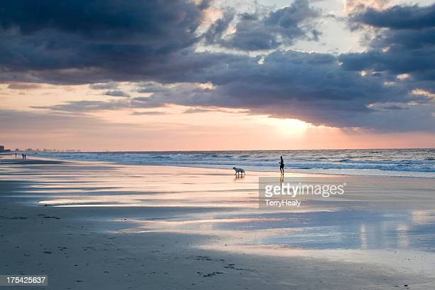 morning walk - file:myrtle_beach,_south_carolina.jpg stock pictures, royalty-free photos & images