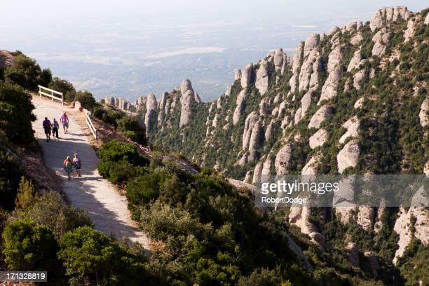 Morning Walking at Montserrat