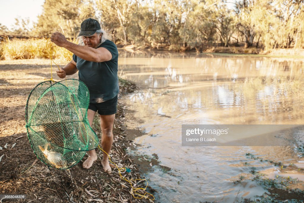 Morning Yabby : Stock Photo