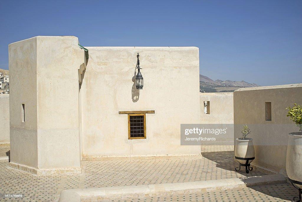 La arquitectura de estilo marroquí : Foto de stock