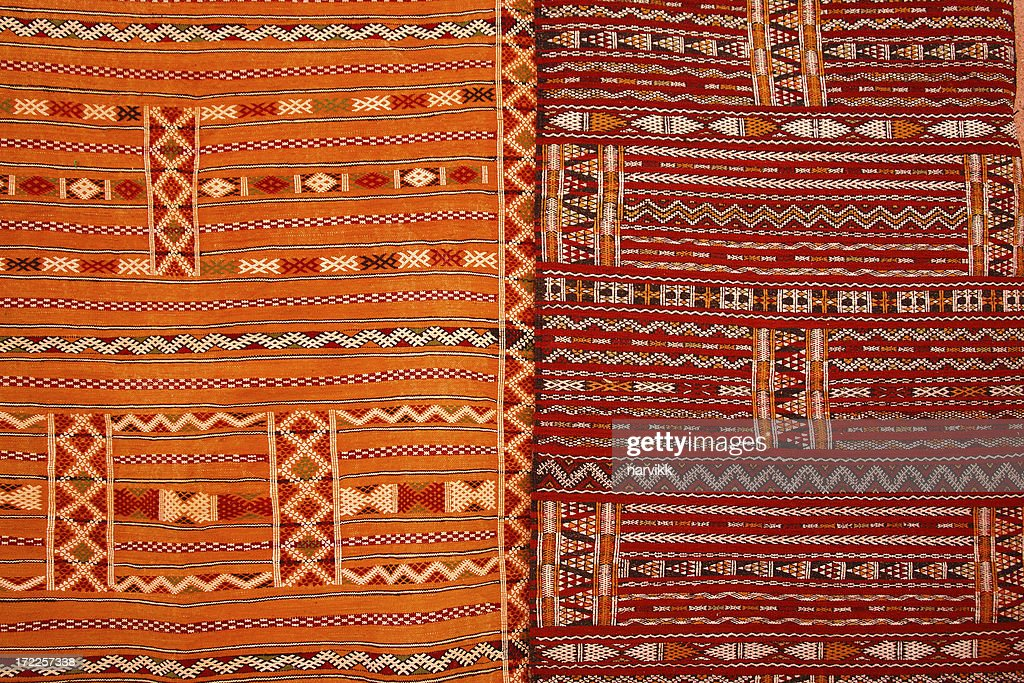 Marokkanische Teppiche : Stock-Foto