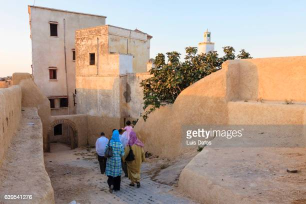Moroccan families at the Portuguese citadel of el Jadida