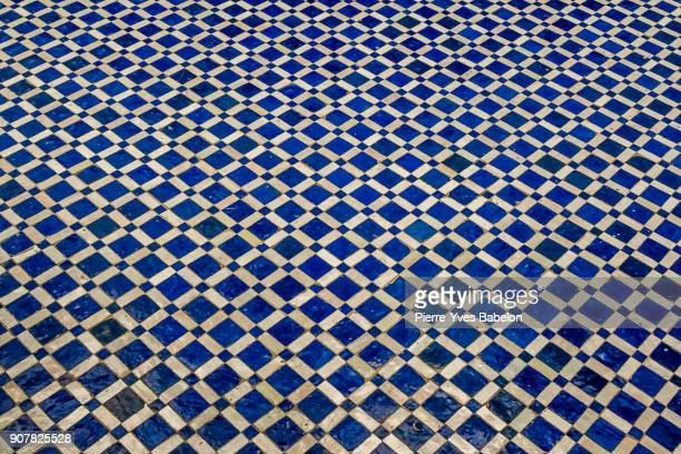 moroccan floor - educational subject stock photos and pictures