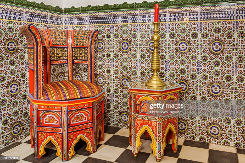 Moroccan Furniture Stock Foto Getty Images