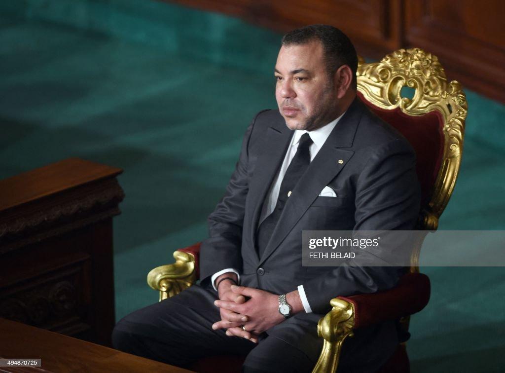 TUNISIA-MOROCCO-POLITICS-MOHAMED VI : Nachrichtenfoto