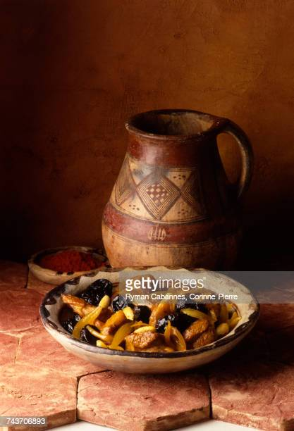 Moroccan lamb and prune Tajine