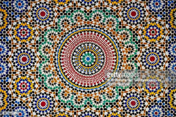 moroccan mosaic - mosaic stock pictures, royalty-free photos & images