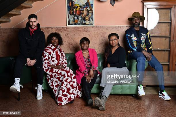 Moroccan shoes designer Karim Daoudi, Burundi's fashion designer Fabiola Manirakiza, Cameroonian fashion designer Claudia Gisele Ntsama, Nigerian...