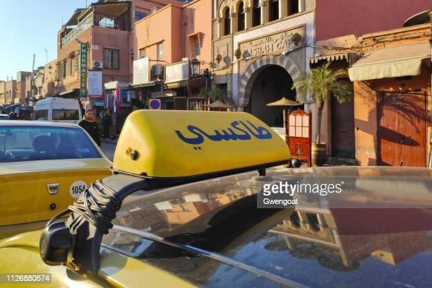 Moroccan taxi sign