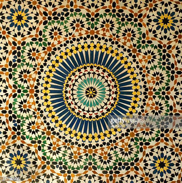 moroccan tiles - mosaic stock pictures, royalty-free photos & images