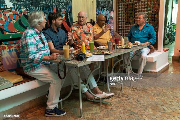 NEVER 'Moroccan Wishes and Camel Dreams' Episode 207 Pictured Henry Winkler Jeff Dye Terry Bradshaw George Foreman William Shatner