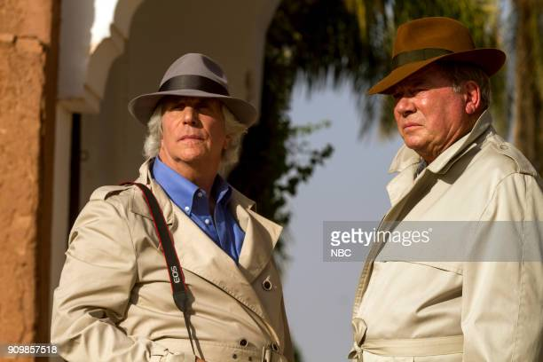 NEVER 'Moroccan Wishes and Camel Dreams' Episode 207 Pictured Henry Winkler William Shatner