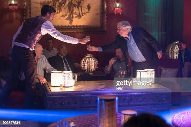 NEVER 'Moroccan Wishes and Camel Dreams' Episode 207 Pictured Jeff Dye Henry Winkler