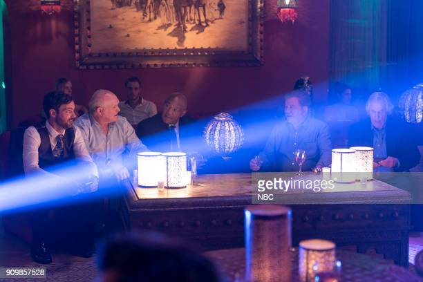 NEVER 'Moroccan Wishes and Camel Dreams' Episode 207 Pictured Jeff Dye Terry Bradshaw George Foreman William Shatner Henry Winkler