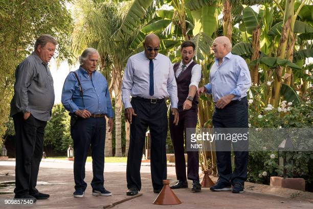NEVER 'Moroccan Wishes and Camel Dreams' Episode 207 Pictured William Shatner Henry Winkler George Foreman Jeff Dye Terry Bradshaw