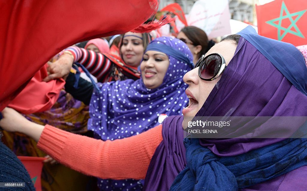 MOROCCO-INTERNATIONAL-WOMENS-DAY : News Photo