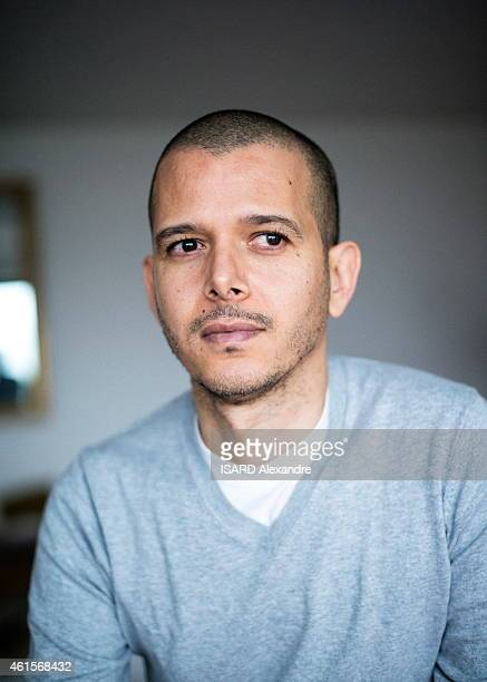 Moroccan Writer Abdellah Taia Poses On January 05 2015 In Paris France