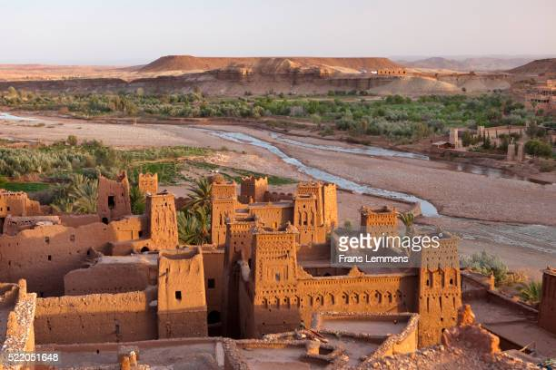 Morocco, Ait Ben Haddou, Ancient Fortress or Kasbah