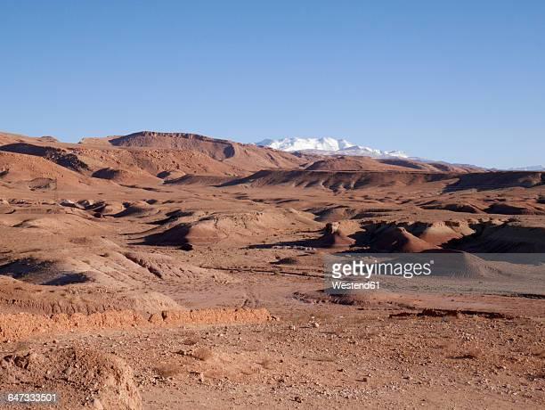 Morocco, Ait Benhaddou in desert