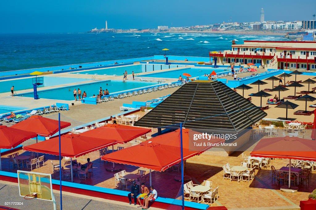morocco casablanca the corniche miami plage beach club. Black Bedroom Furniture Sets. Home Design Ideas