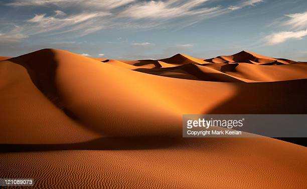 morocco dunes - sand dune stock pictures, royalty-free photos & images