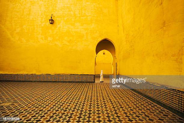 morocco in mosque - casablanca stock pictures, royalty-free photos & images