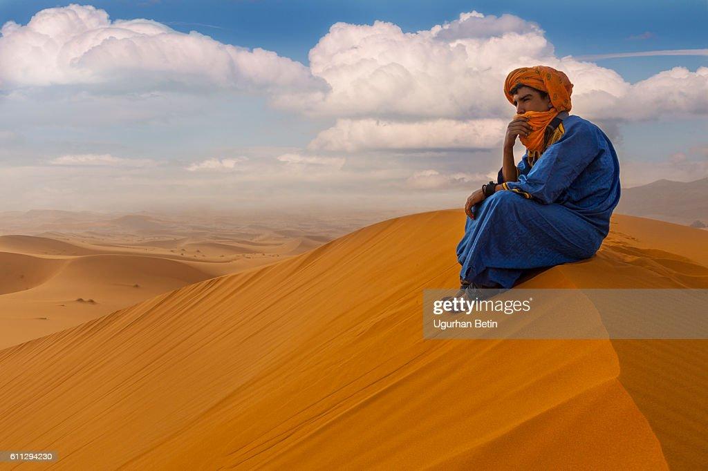 Morocco man : Stock Photo