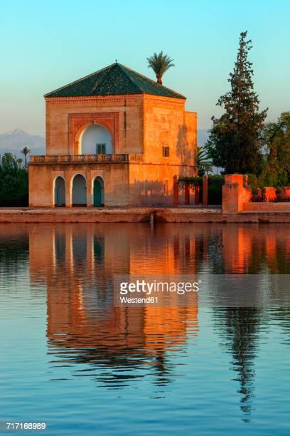 Morocco, Marrakech, Menara gardens