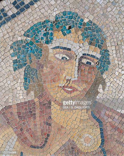 Morocco - Meknes-El Menzeh - 3rd century A.D. Ancient city of Volubilis, settled by Romans since 1st century A.D. . House of the Cavalier, Dionysus...