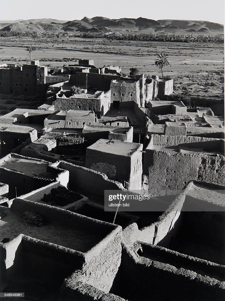 Morocco, near Quarzazate : News Photo