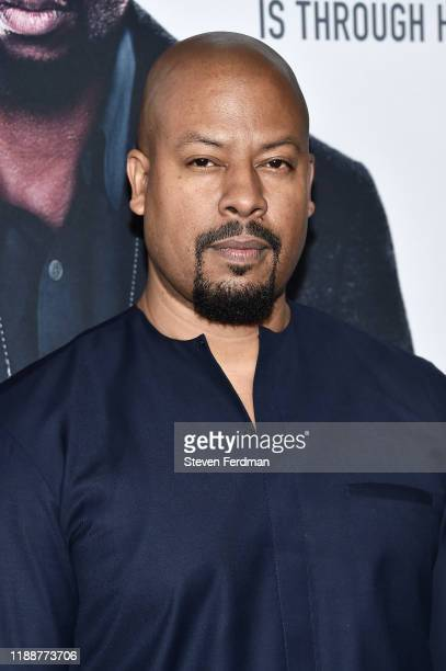 Morocco Omari attends 21 Bridges New York Screening at AMC Lincoln Square Theater on November 19 2019 in New York City