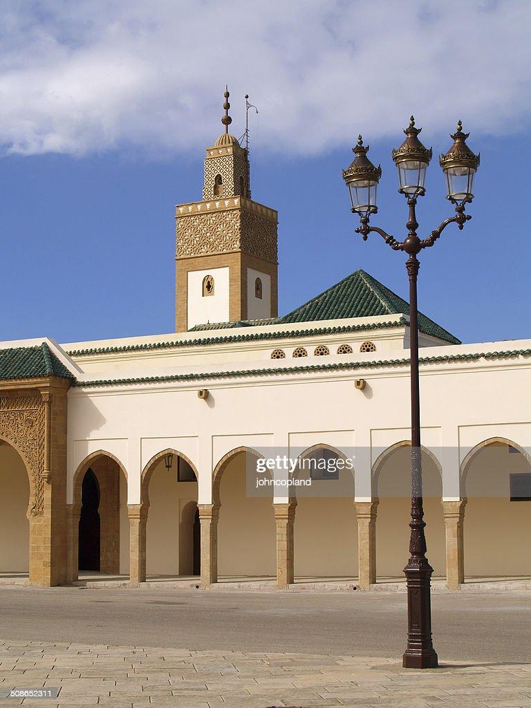 Morocco, Rabat. Ahl Fas Mosque. : Stock Photo