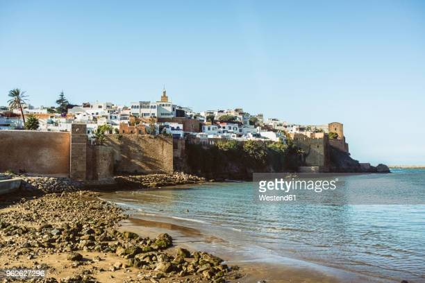 morocco, rabat, view to kasbah - rabat morocco stock pictures, royalty-free photos & images