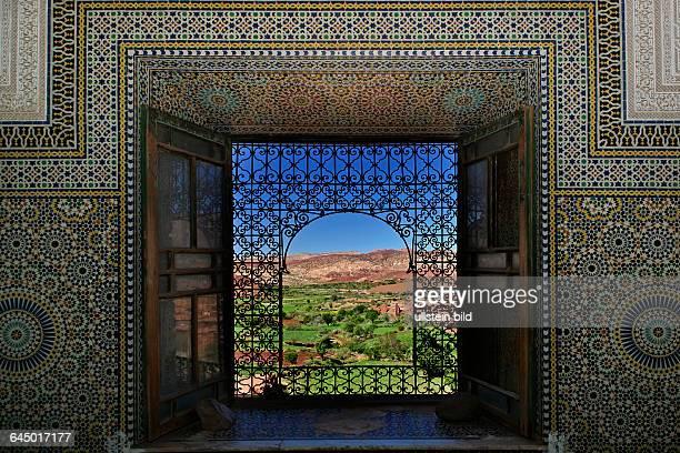 Morocco, Telouet, Telouèt, casbah Telouèt, Dar Glaoui