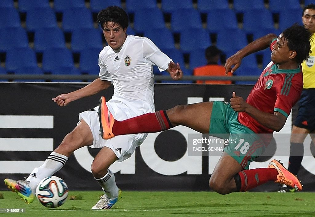 FBL-MOROCCO-LIBYA-FRIENDLY : News Photo