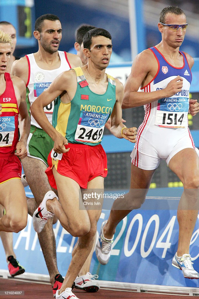 Athens 2004 Olympic Games - Day 9 - Athletics - Men's 1500 Meter - Semifinals