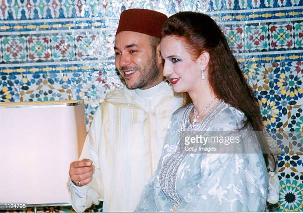 Morocco's King Mohammed VI and his commoner bridetobe Salma Bennani are seen in an undated file photo King Mohammed VI and Bennani are to wed in...