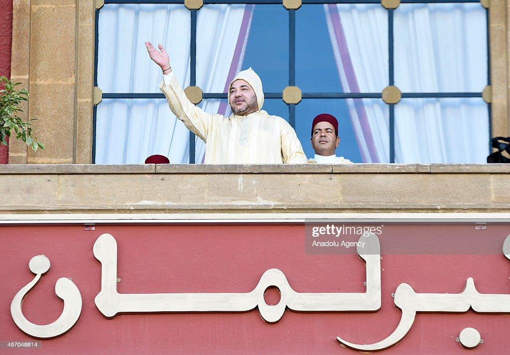 Morocco's King Mohammed VI : News Photo
