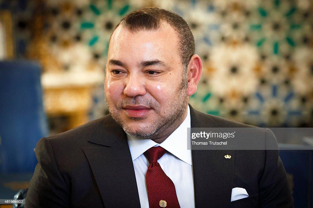 King Mohammed VI : Nieuwsfoto's