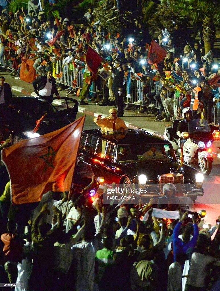 MOROCCO-WSAHARA-GREEN WALK : News Photo