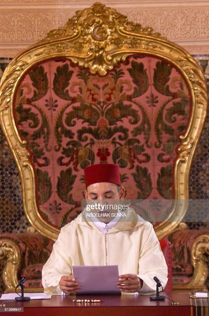 Morocco's new King Mohamed VI delivers his enthron : News Photo
