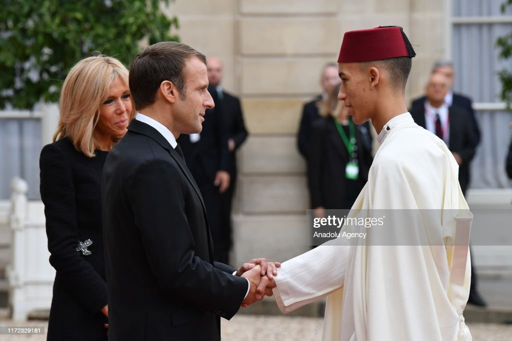 Heads of State and Government at Elysee Palace after the tribute : News Photo