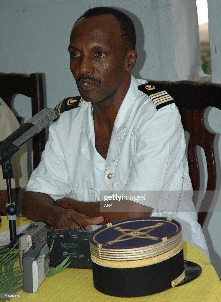 Comoran army Chief of Staff Said Hamza g : News Photo